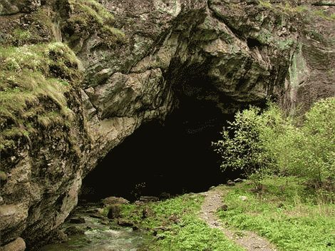 аномальная пещера Китум