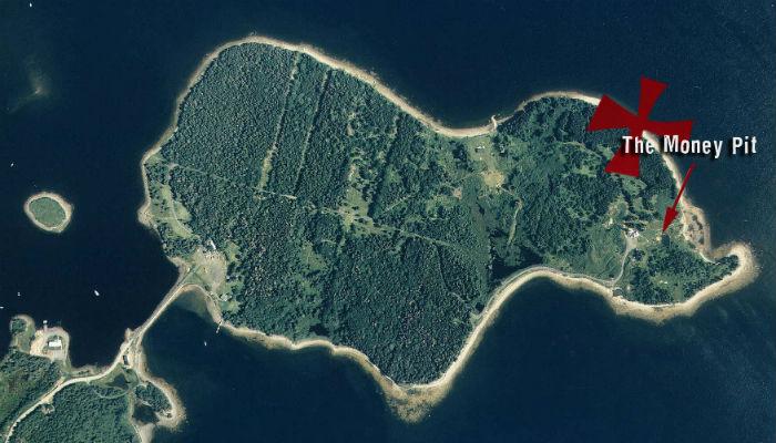 Денежная яма острова Оук