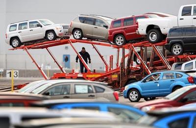 auto transport car lot