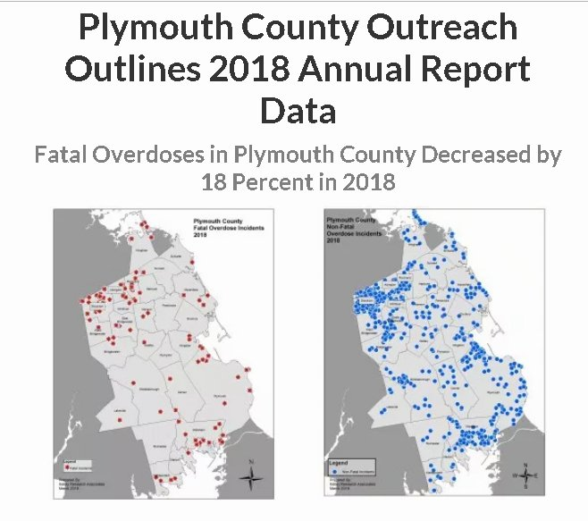 Plymouth County Outreach: Fatal Overdoses in Plymouth County Decreased by 18 Percent in 2018
