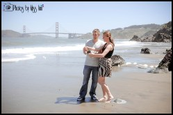 California Wedding Photographer Photos by Miss Ann China Beach Engagement Session
