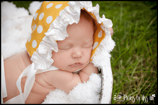 Polka Dot Newborn Plymouth Michigan Newborn Photographer Photos by Miss Ann