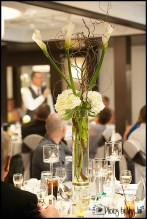 Ann Arbor Wedding Cala Lily Centerpiece Wedding Reception Webers Ann Arbor