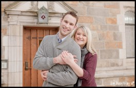 Fun Ann Arbor Engagement Session Photos