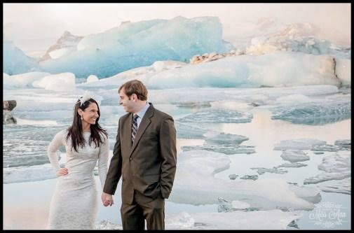 Glacier Lagoon Iceland Wedding Jokulsarlon Photos by Miss Ann