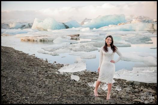 Iceland Wedding Photographer Jokulsarlon Glacier Lagoon