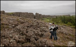 Thingvellir National Park Engagement Session Iceland