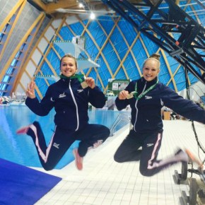 City divers Tonia Couch and Sarah Barrow hope to get GB off to good start in London