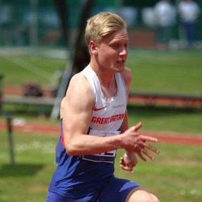 Plymouth sprinter Arnott sets new PB at Anniversary Games in London