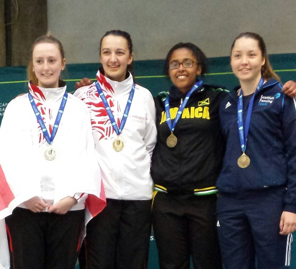 Tia Commonwealth Junior Fencing Championships