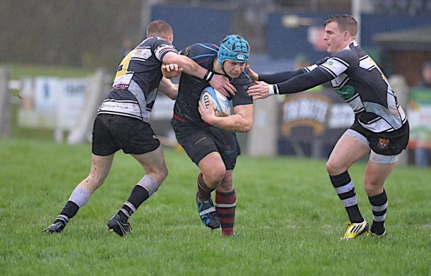 Devonport Services attack against Torquay on Saturday (picture by Mark Andrews)