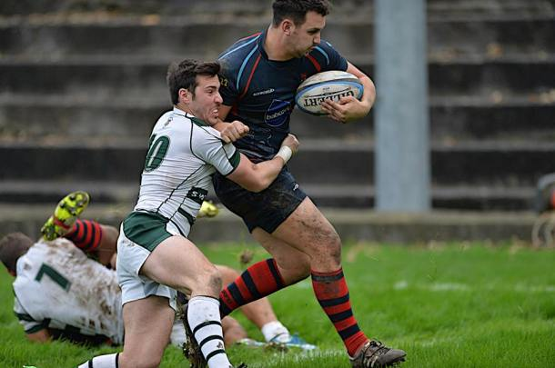 Devonport Services attack against Exeter University (picture by Mark Andrews)