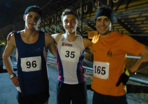 Nathan Brown, Tom Humphry and Oli Wright
