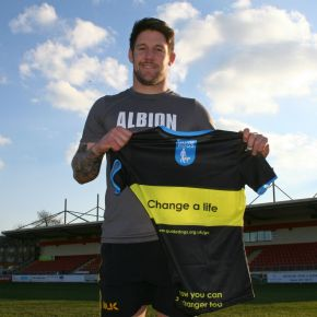 Albion back Shepherd keen to tackle a new challenge on weekend off