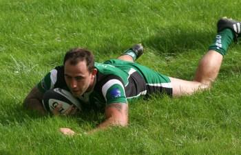Lewis Paterson try Ivybridge v Salisbury
