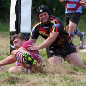 GALLERY: OPMs enjoy 'fun' run-out alongside Plym Vic at Marsh Mills