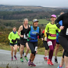 GALLERY: Royal Navy runner Baker sets new record at Plym Trail Winter Weekend