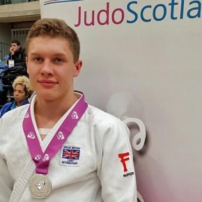 Judo star Widdicombe wins silver at Scottish Junior and Senior Open