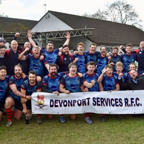 RUGBY REPORTS: Devonport Services secure promotion to South West One
