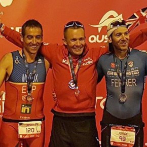 Holder claims age group gold at ETU Challenge Long Distance Triathlon Champs in Spain