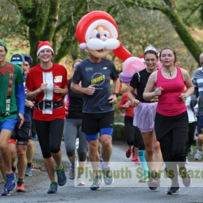 GALLERY: Pictures from the Jingle Bell Jog around Burrator