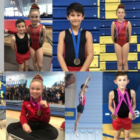 Young City of Plymouth trampolinists qualify spots on South West team