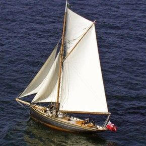 Mount Kelly acquire historic boat to offer offshore sailing