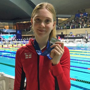SWIMMING: Leander's Osrin makes her mark at Luxembourg Euro Meet