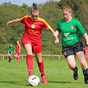 WOMEN'S FOOTBALL: Marine Academy and Callington progress in FA Cup