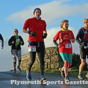 GALLERY: Pictures from the first day of the 2020 Plym Trail Christmas Marathon Weekend
