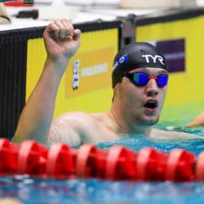 Plymouth's Dunn delighted to add British 100m backstroke record to his collection