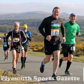 GALLERY: Pictures from the first day of the Plym Trail Winter Marathon weekend