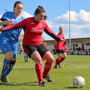 WOMEN'S FOOTBALL: Saltash United extend their lead at the top after beating Callington