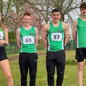 King runs a season's best in California, while Plymouth athletes impress at Yeovil