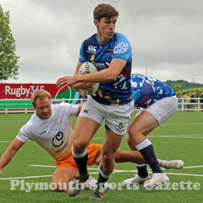 GALLERY: RAF fly into Ivybridge to win South Devon Sevens event