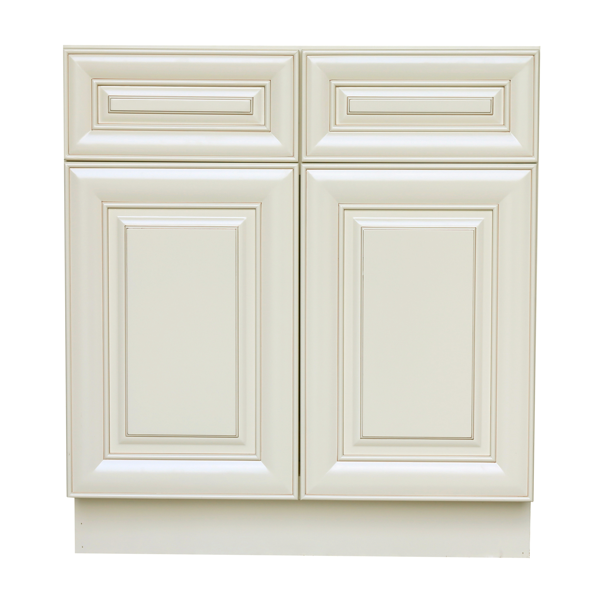 2 drawer base kitchen cabinet cottage cabinets antique white with door and