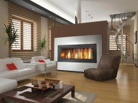 21 Modern Fireplace Glass Doors Design To Beautify Your ...