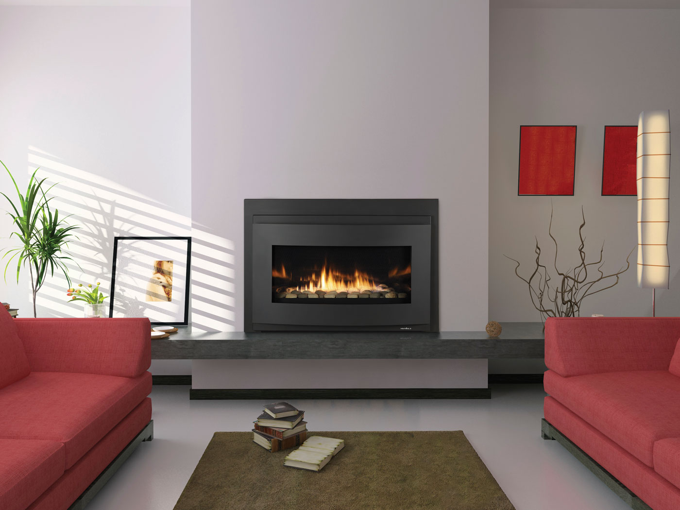 21 Modern Fireplace Glass Doors Design To Beautify Your HomePlywoodChaircom