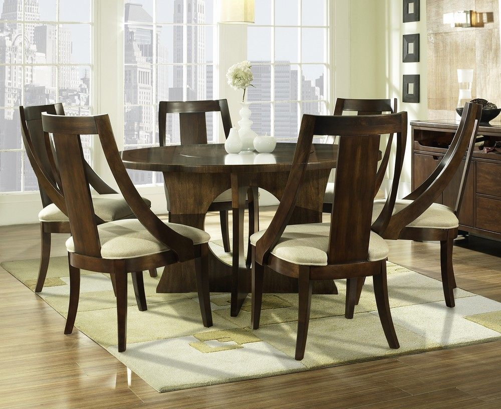 30 Eyecatching Round Dining Room Tables Design Ideas For Dining RoomPlywoodChaircom