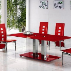 Modern Red Chair Garden For Disabled Person All Dining Room Sets Design Ideas And Inspiration