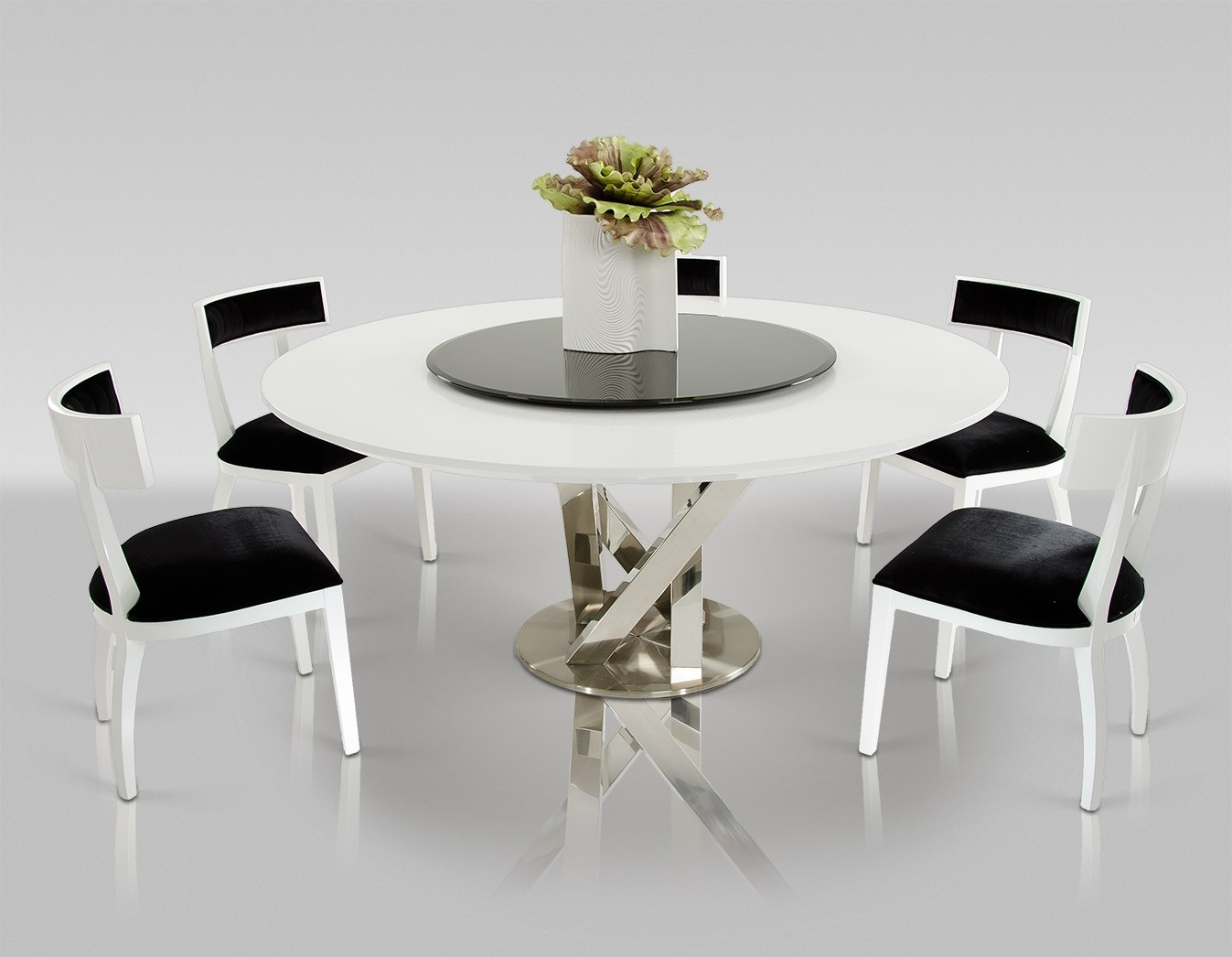 8 chair table size veritas folding adirondack plans 30 eyecatching round dining room tables design ideas for