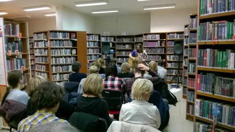 koncert v knihovně