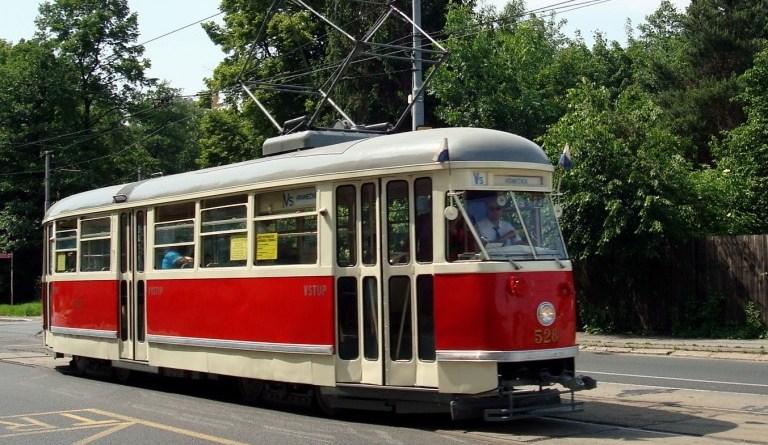 tříkrálová tramvaj