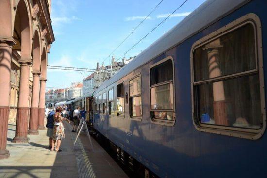 Prezidentský vlak vPlzni