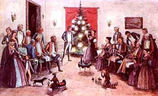 Americké Vánoce v 19. století