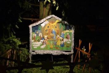 vánoční výzdoba na slovanech