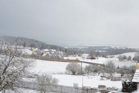 Sníh vPlzni