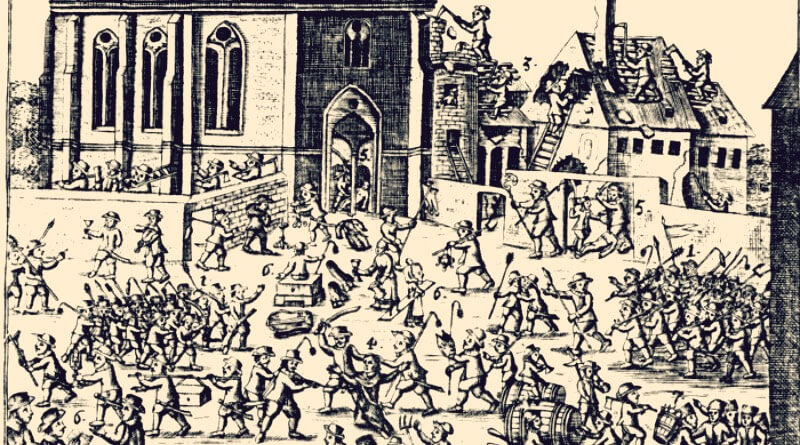 masakr mnichů