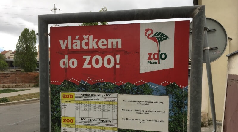 vláčkem do ZOO