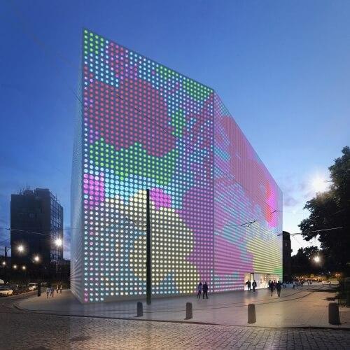 Vítězný návrh pro novou budovu